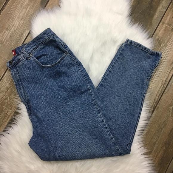 664c6bed Vintage LA Blues High Waist Tapered Leg Mom Jeans.  M_5bbfd571b6a9426b26dc0a51